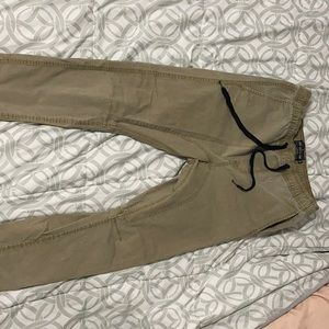 Cotton On khaki jogger skinny's